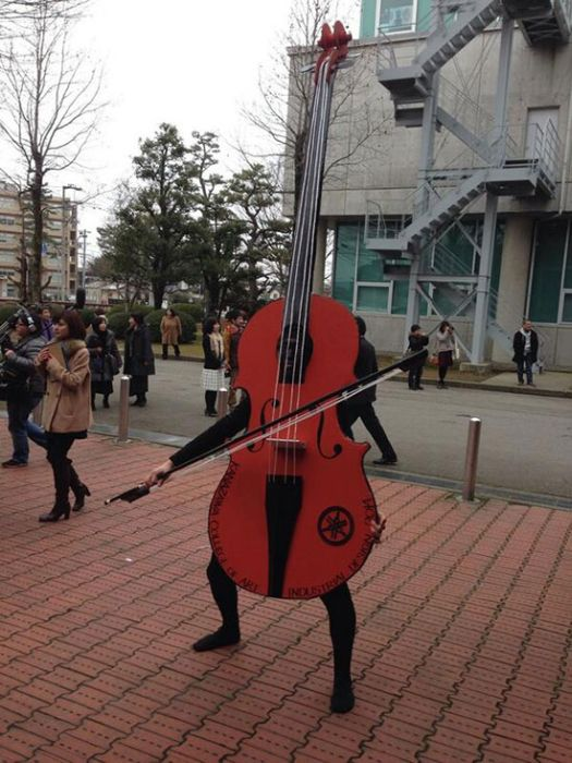 Unusual Graduation in a Japanese School (16 pics)