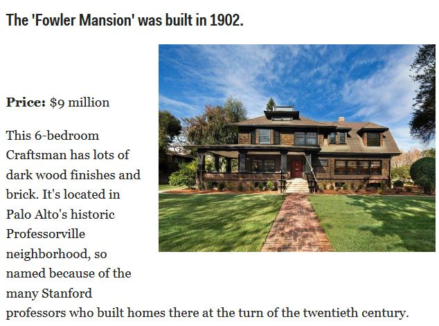 The Most Expensive Mansions for Sale in Silicon Valley (15 pics)
