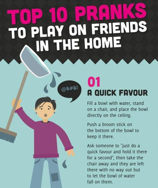 Pranks to Play on Your Friends