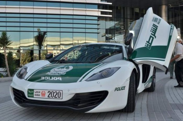 Police Cars of Dubai (22 pics)