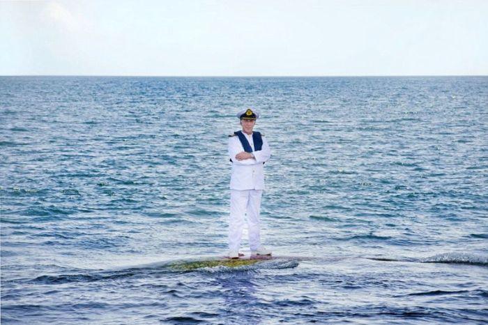 Captain Kevin Oprey (4 pics)