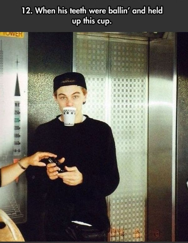 When Leonardo DiCaprio Was a Total Badass (24 pics)