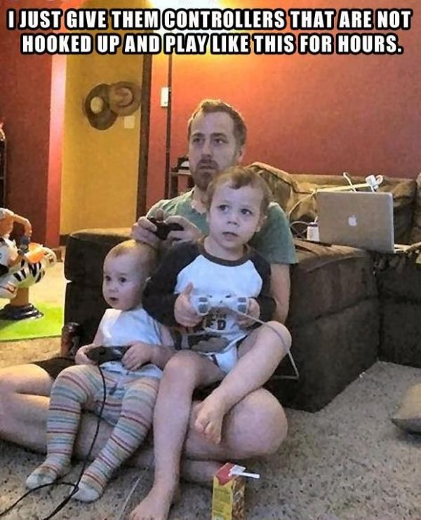 Dads Are Not The Best Parents (28 pics)