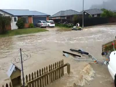 Jet Ski During a Flood