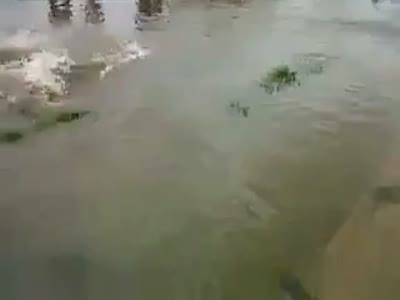 Fall Down During a Flood