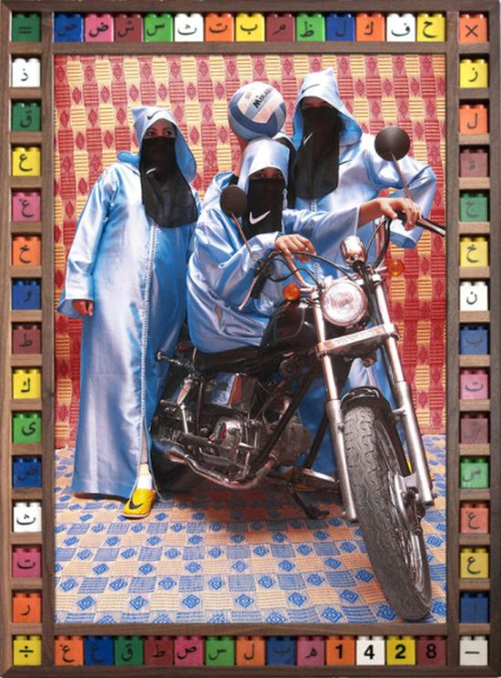 Female Bikers of Marrakech (10 pics)