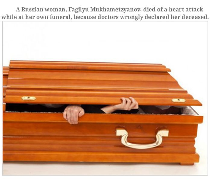 Strange Ways People Have Died (22 pics)