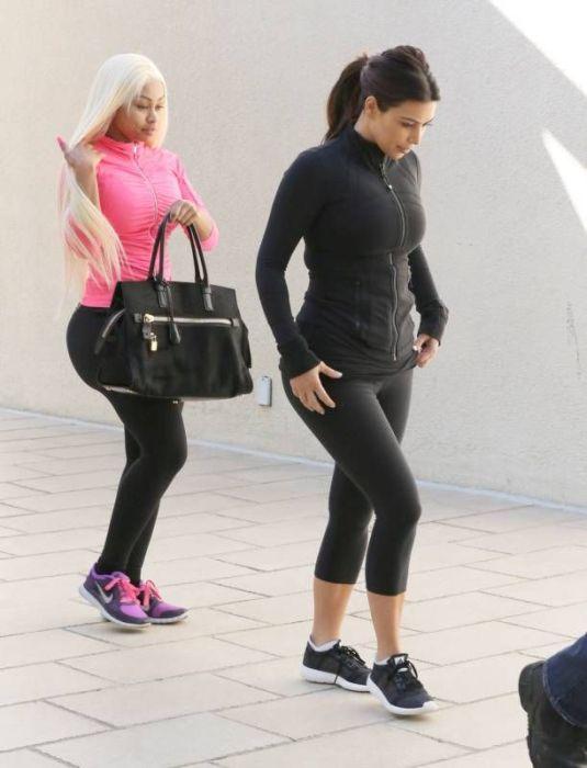 Kim Kardashian's New Friend (17 pics)