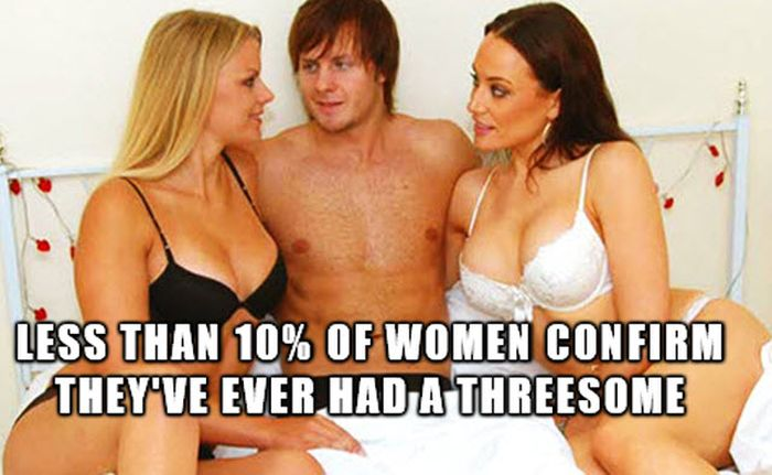 Facts About Threesomes (13 pics)