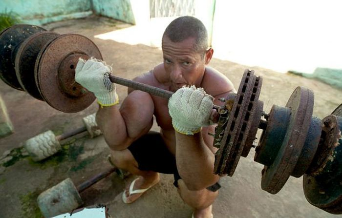 The Real-Life Popeye (14 pics)