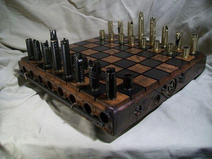 Steampunk Chess (5 pics)