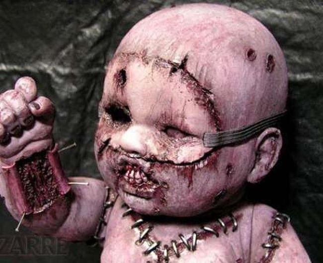 The Creepiest Dolls Ever (42 pics)