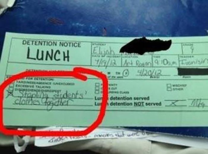 Funny Detention Notices (24 pics)