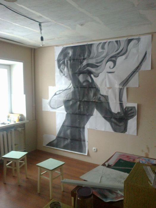 Painting the Walls (24 pics)