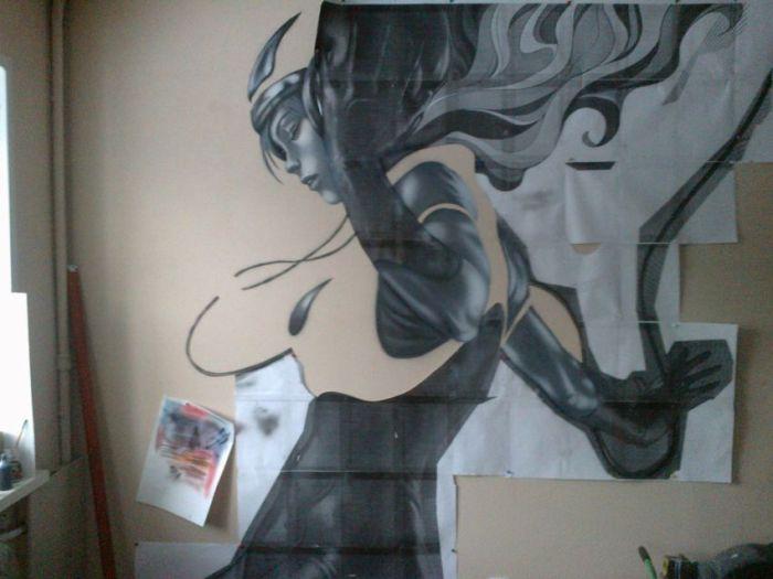 Painting the Walls (24 pics)