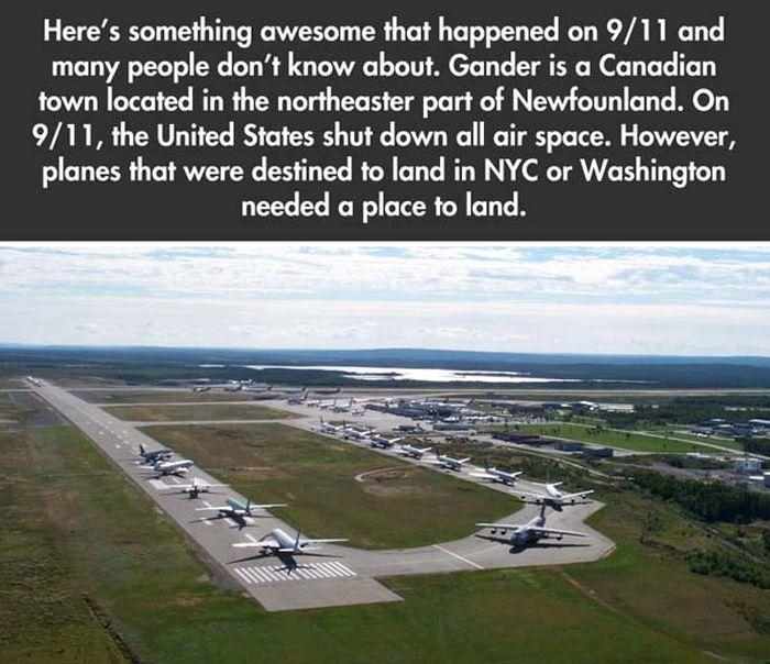 September 11th, 2001, Gander, Canada (2 pics)