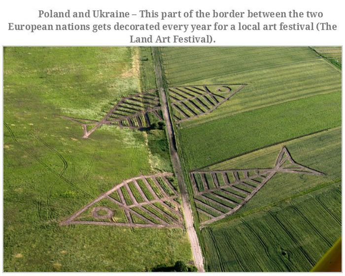 The Most Interesting Borders in the World (22 pics)