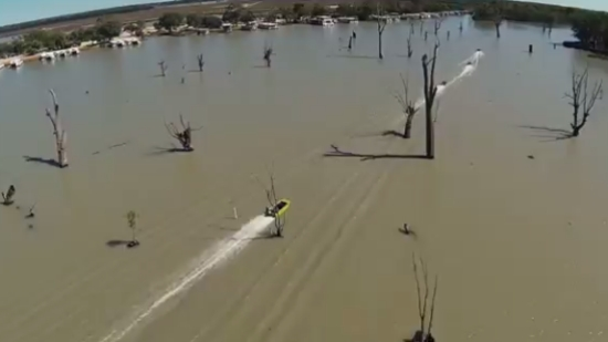 Speed Racing Through Tree Infested Rivers