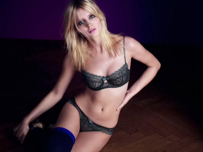 "Fanny Francois in ""Huit"" Bikini and Lingerie Photoshoot (38 pics)"