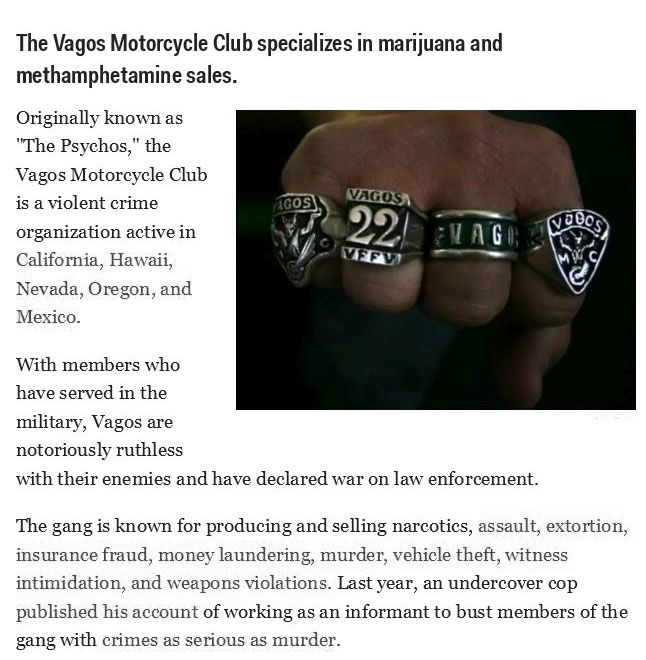 The Most Dangerous US Gangs (13 pics)