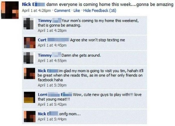 Parents on Facebook (21 pics)