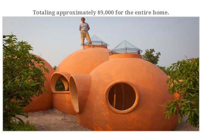 Guy Builds a Vacation House (23 pics)