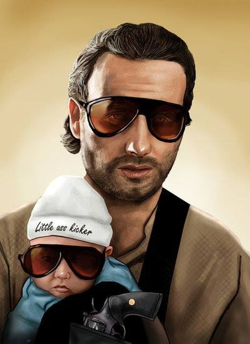 Pop Culture Illustrations (30 pics)