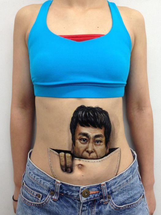 Japanese Body Paintings by Hikaru Cho (30 pics)