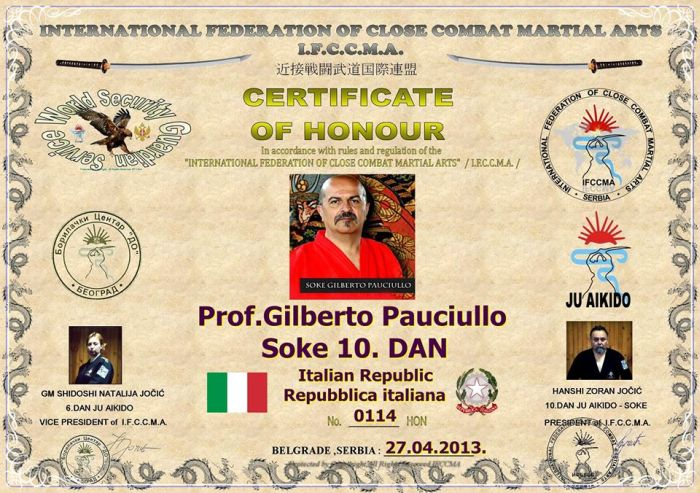 Forget About Chuck Norris. Meet Gilberto Pauciullo (10 pics)