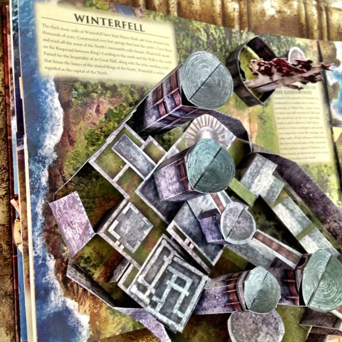 Beautiful Game of Thrones Pop-Up Book (7 pics)