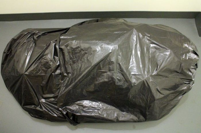 Garbage Body Prank (12 pics)