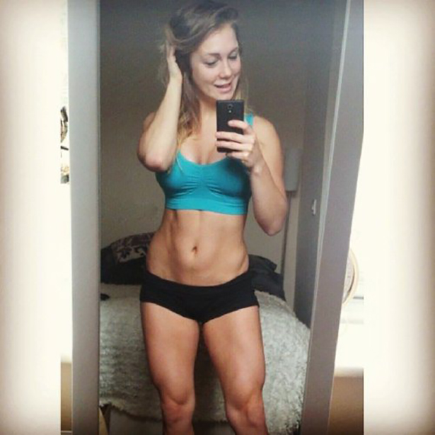 Fit Girls in Short Shorts (32 pics)