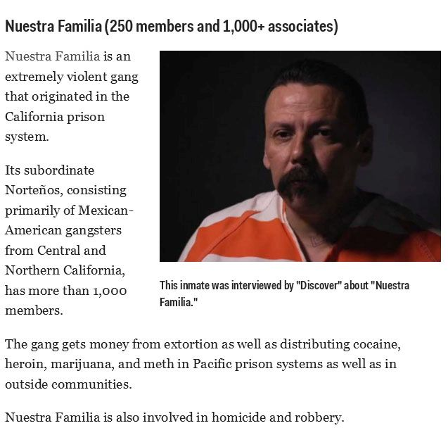 The Most Powerful Prison Gangs in the USA (12 pics)