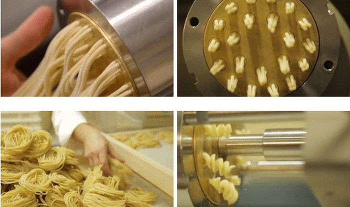 The Making of Pasta (10 gifs)
