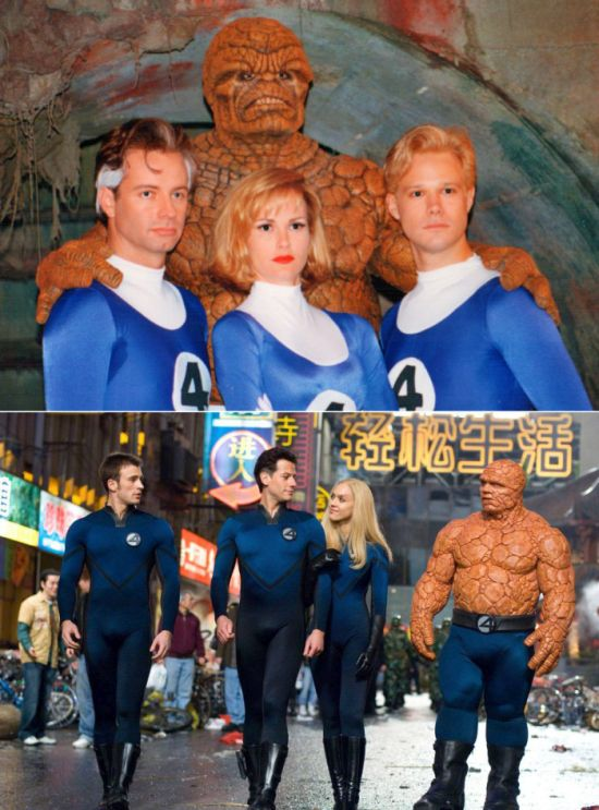 Super Heroes and Villains Then and Now (26 pics)