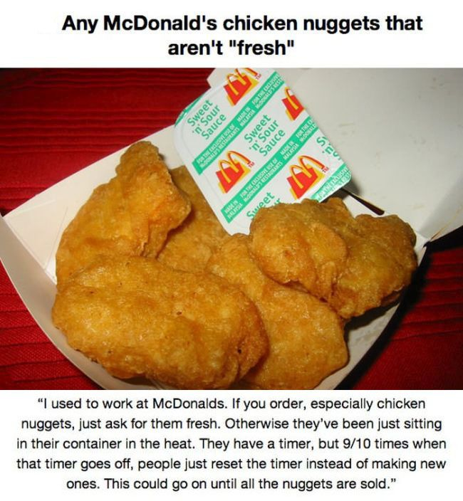 Never Buy These Fast Food Items (14 pics)