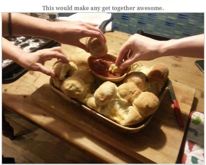 Mystery Pizza Bread Recipe (32 pics)
