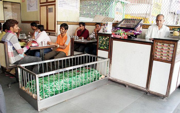 Restaurant with Coffins (5 pics)
