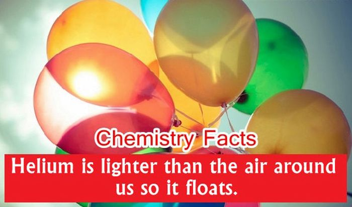Chemistry Facts (28 pics)