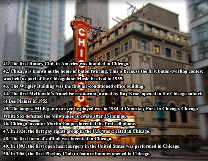 Interesting Facts About Chicago (6 pics)
