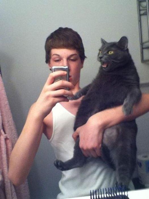 Cats Taking Selfies (28 pics)
