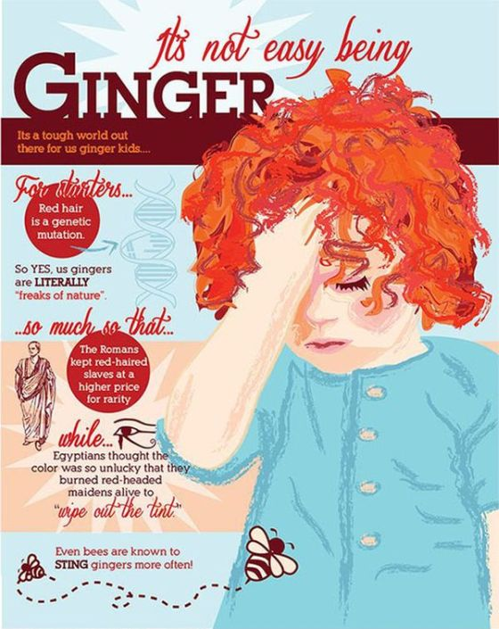It's Not Easy Being Ginger