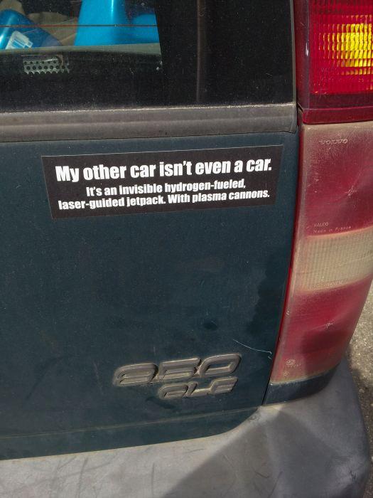 Funny Bumper Stickers (28 pics)