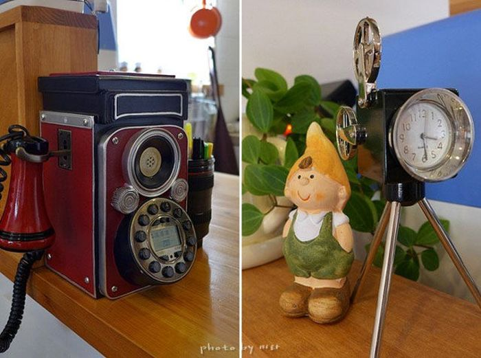 Vintage Camera Coffee Shop in South Korea (15 pics)