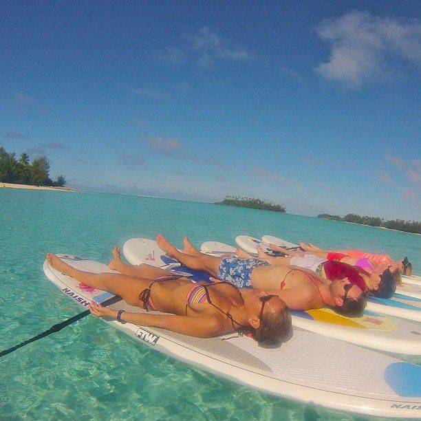 Yoga on the Surfboards (43 pics)