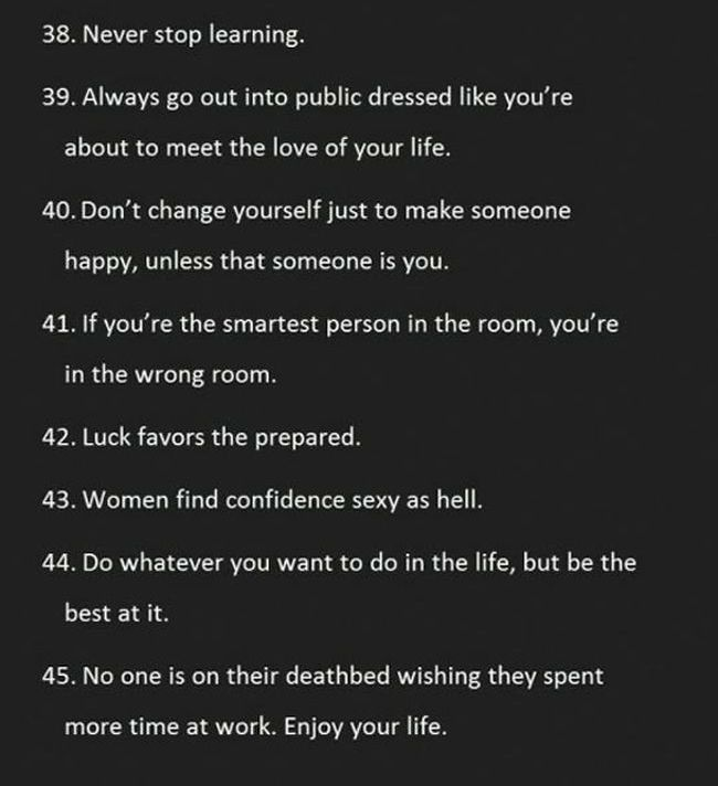 Words of Wisdom for Every Man (7 pics)