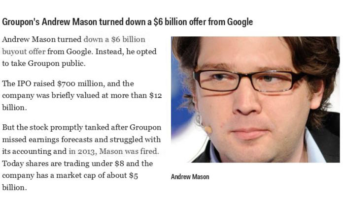 People Who Missed Out on a Fortune (16 pics)