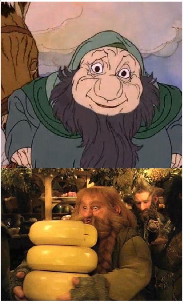 Hobbit 1977 - 2012 (10 pics)