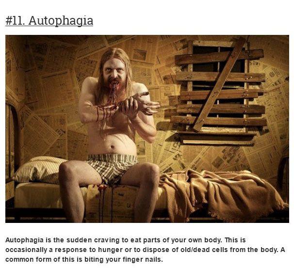 Rare Psychiatric Syndromes (20 pics)