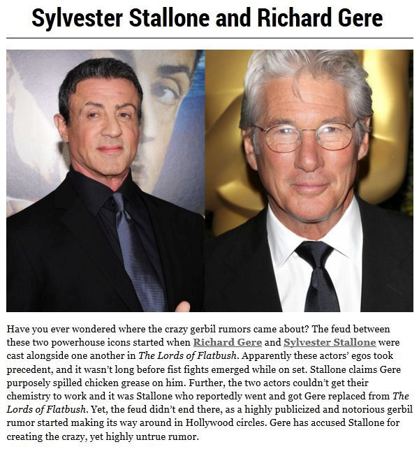 Actors Who Refuse To Work Together (10 pics)